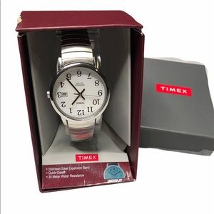 Timex | NEW Stainless Steel Water Resistance Watch